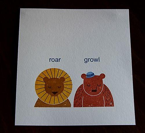 Roar growl