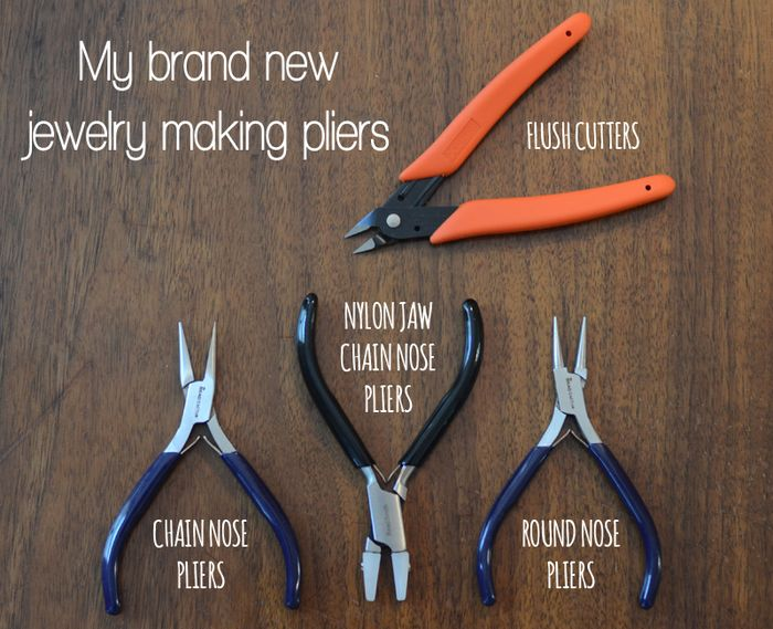 My brand new jewelry making pliers 001